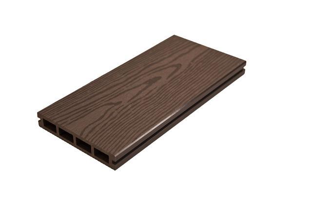塑木空心/碳化咖240x15x2.7cm