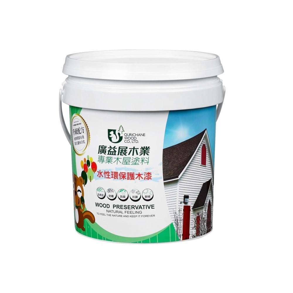 水性環保護木漆-1加侖