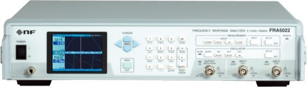 NF周波数特性分析器
