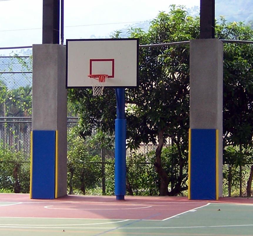 籃球架保護墊
