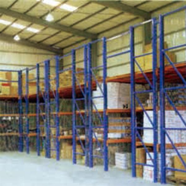 積層式物料鋼架