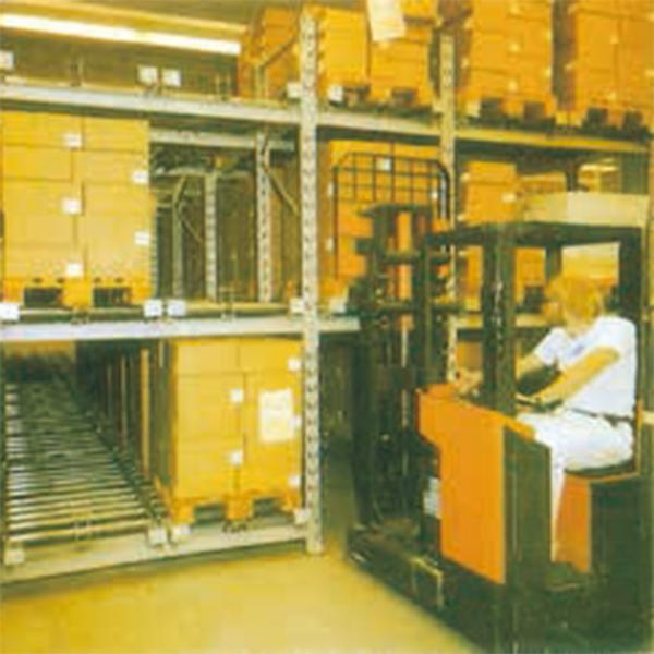 滑動式棧板鋼架