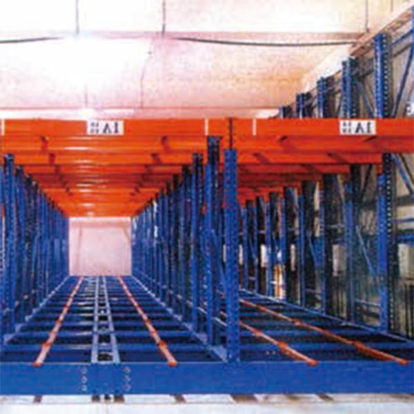 驅動式棧板物料架