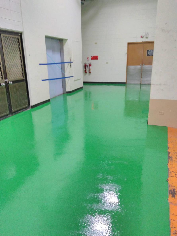 環氧樹酯無縫地板