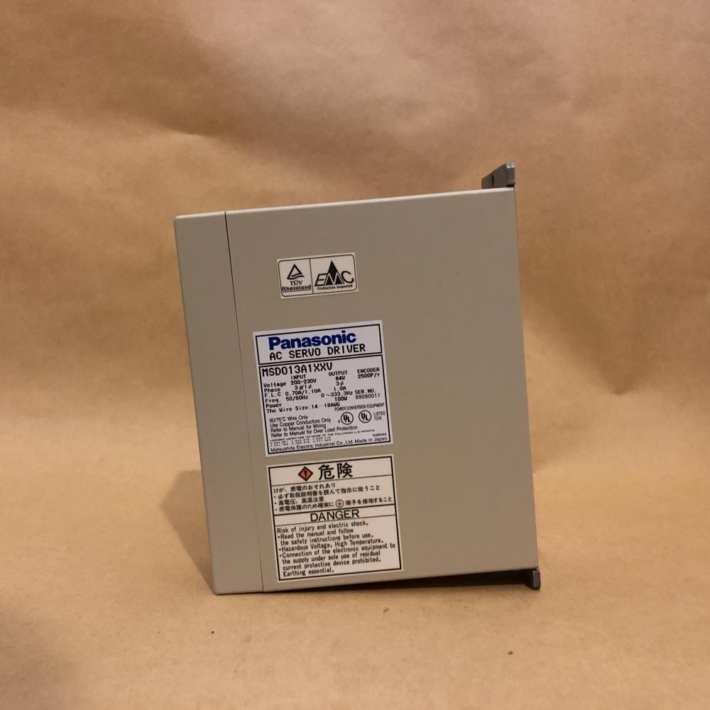 MSD013A1XXV    松下伺服驅動器