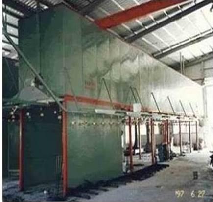 自動化粉液體塗裝設備