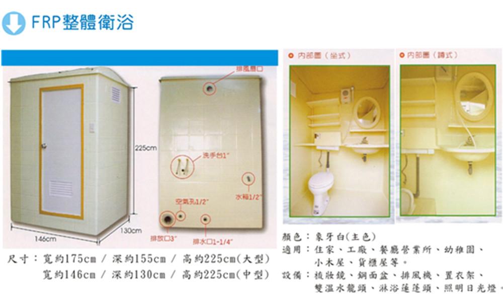 FRP整體衛浴