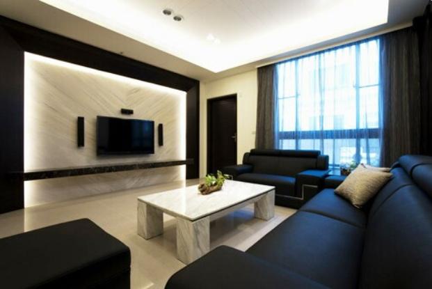 客廳完工照片