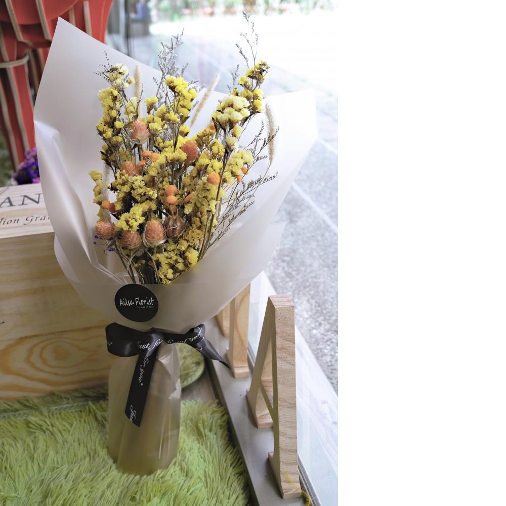需客製-乾燥花束
