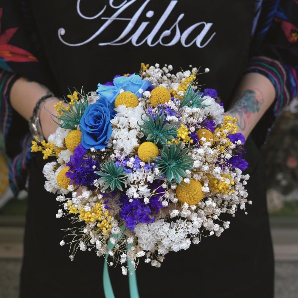 a053-新娘捧花