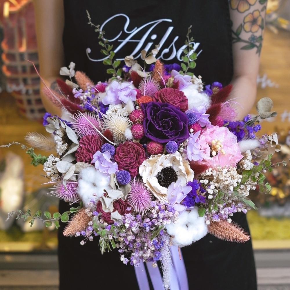 a081-新娘捧花