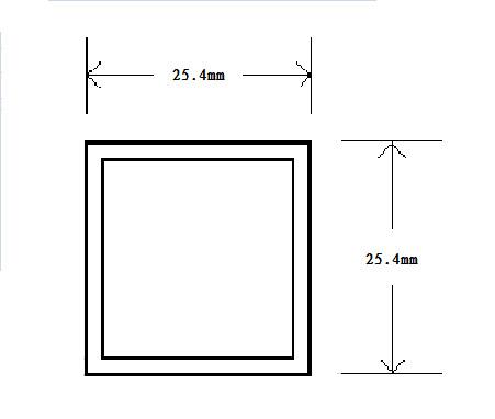 2525-方管規格