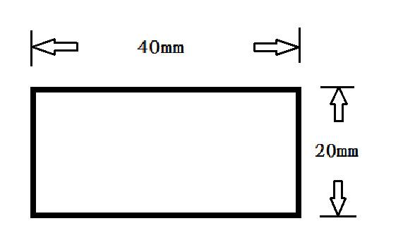2040-長方管規格