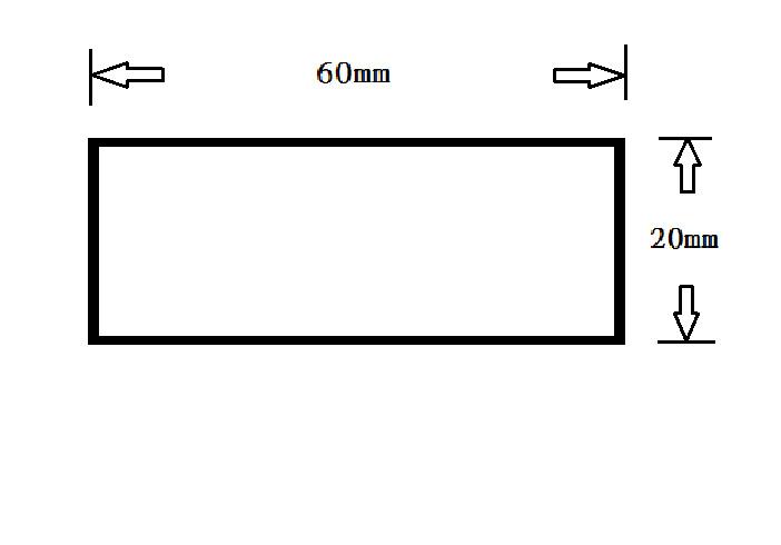 2060-長方管規格