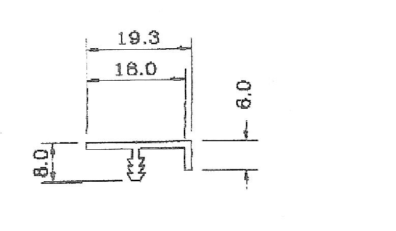 0943-F型鋁條
