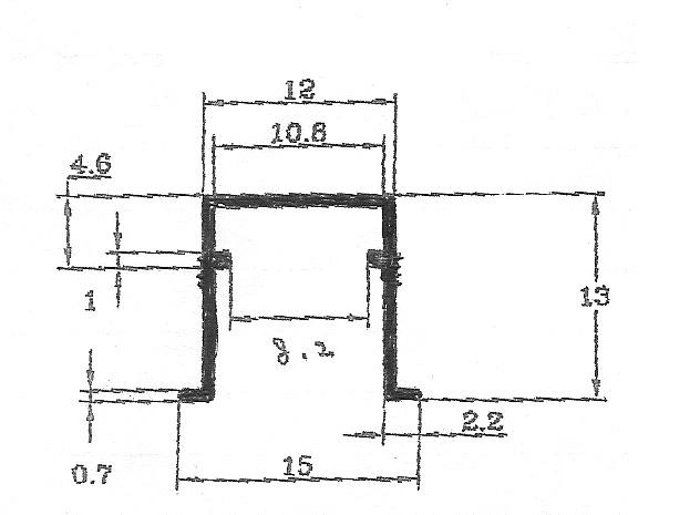 2452-T型鋁條