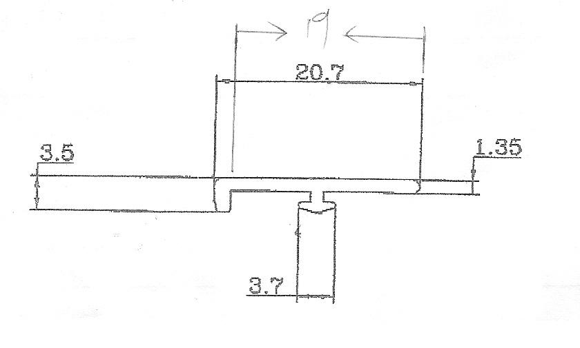5197-F型鋁條