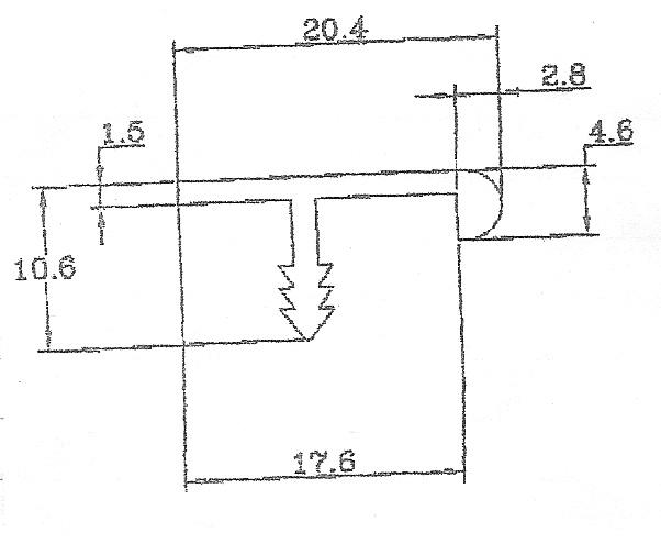 90013-F型鋁條