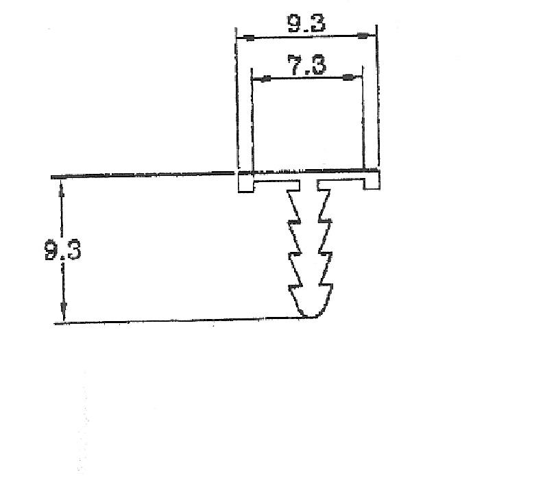 70092-T型鋁條