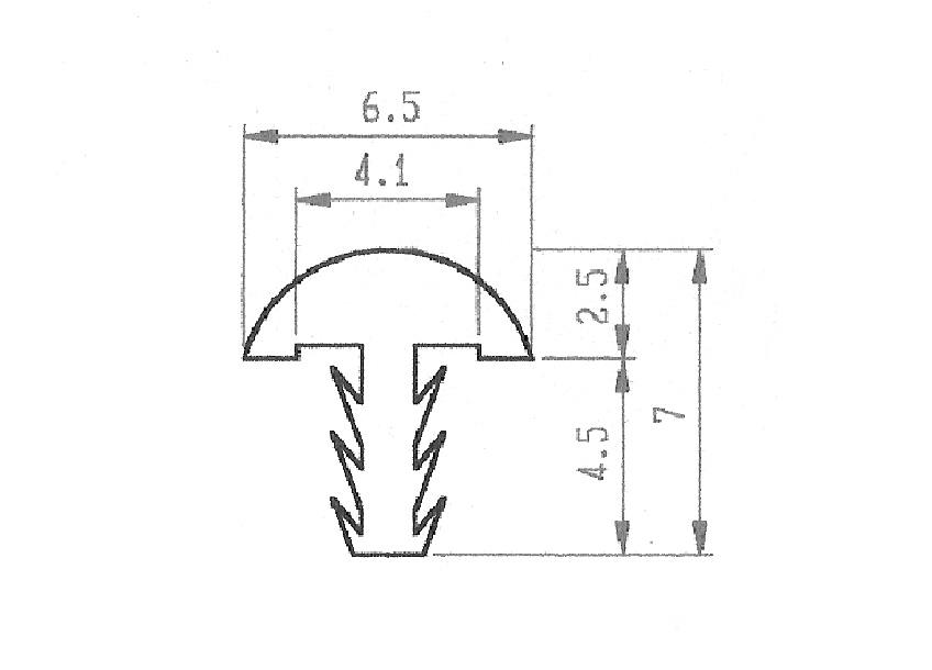 P009-T型鋁條