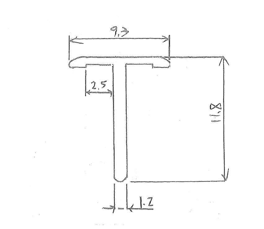 P020-T型鋁條