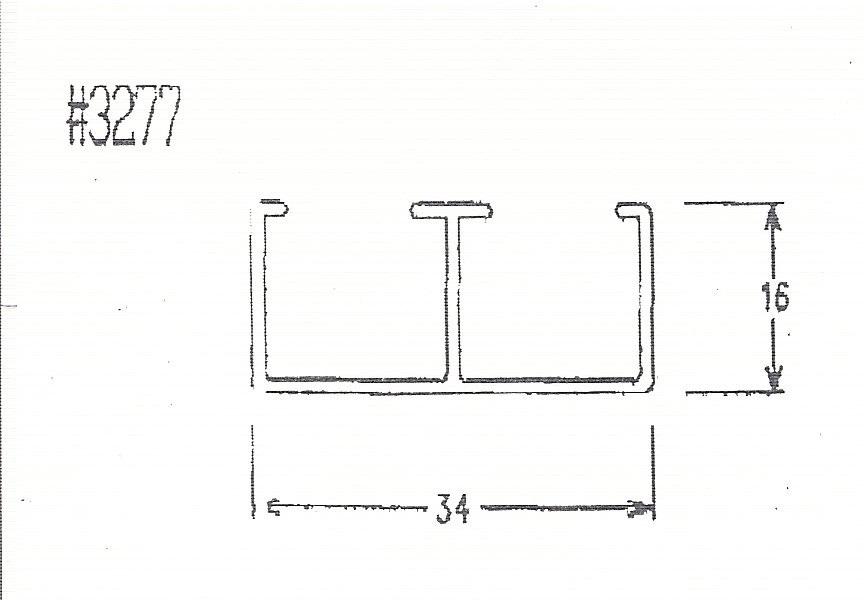3277-玻璃用軌道