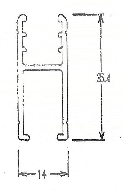 3278-玻璃用軌道