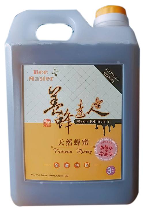 蜂蜜-國產精選龍眼荔枝蜜-3000g