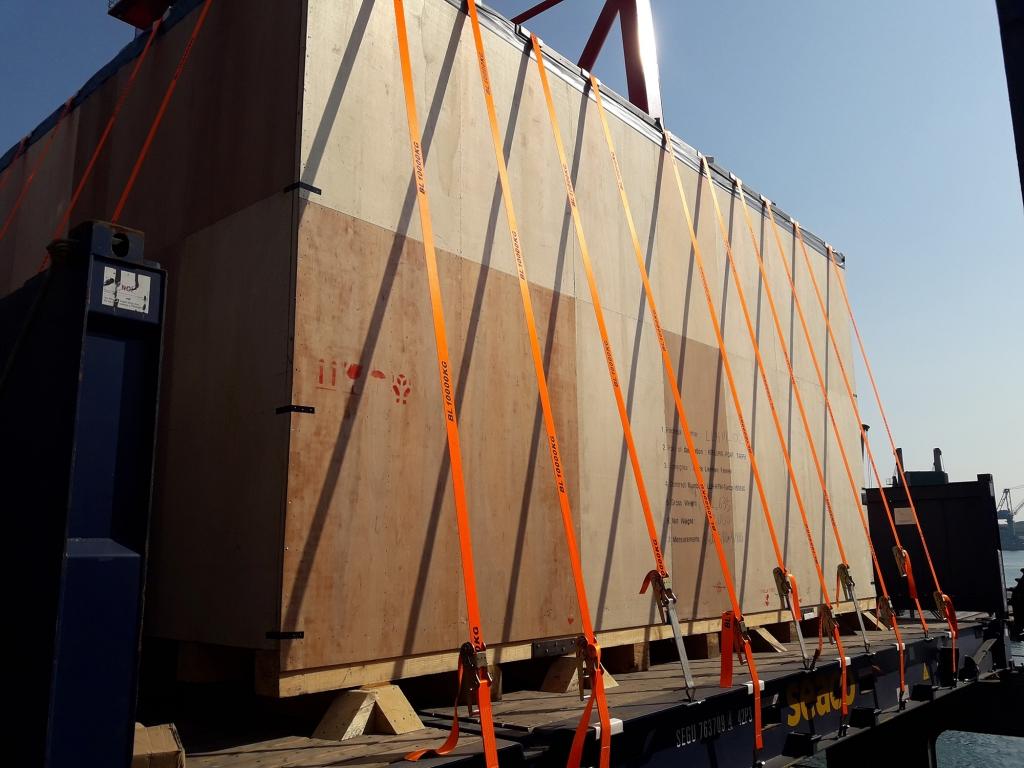 聯華氣體基隆港短搬拆箱運送
