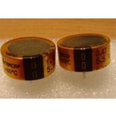 金電容0.47~1F/5.5V 85℃