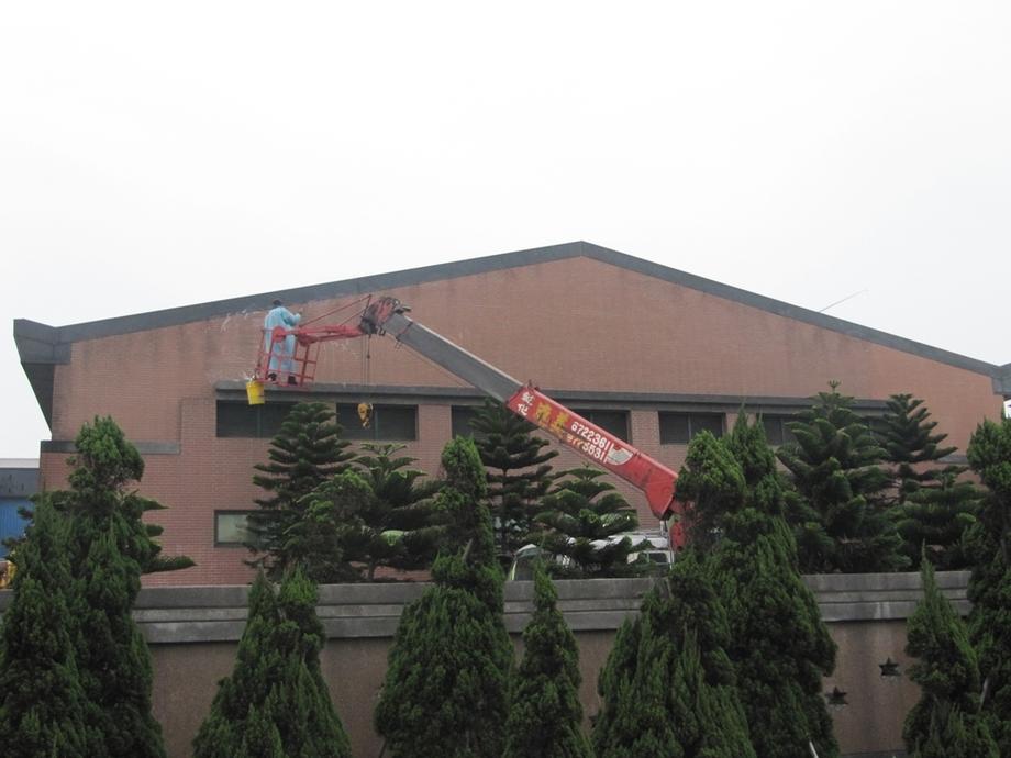 外牆防護劑施工