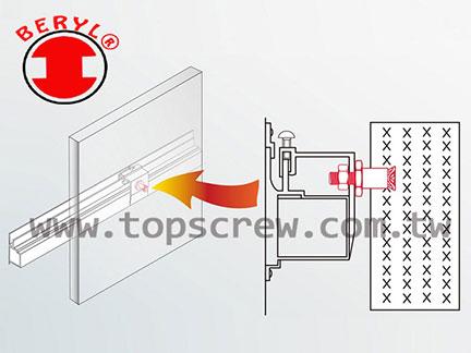 背內擴孔固定錨栓(擴張式壁虎)