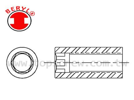 支柱螺帽 - 氣缸螺帽