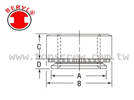 TSC 4 壓鑄螺母