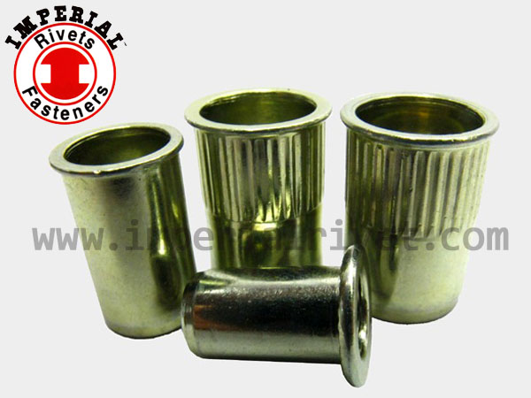 Small Flange Blind Rivet Nut, Open End SEM, SAM Flat Head Berynut, Open End BEM, BAI
