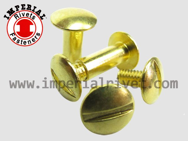 Brass Binding Post Screw & Chicago Screw