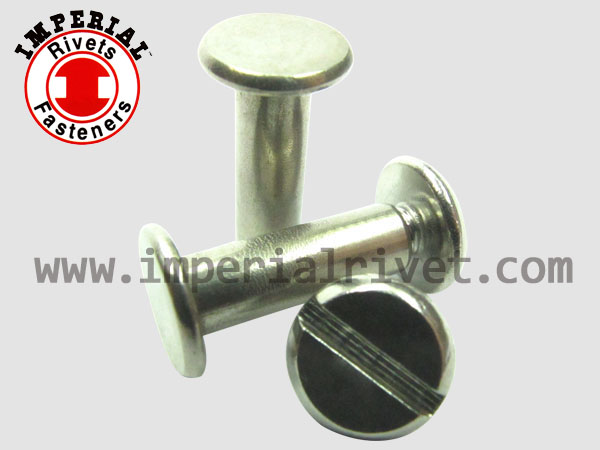StainlessSteel Binding Post ScrewΧcago Screw