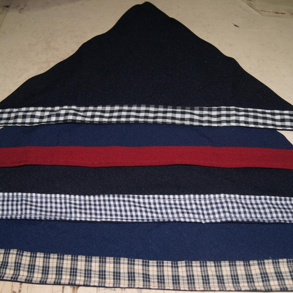 花色頭巾(三角巾)