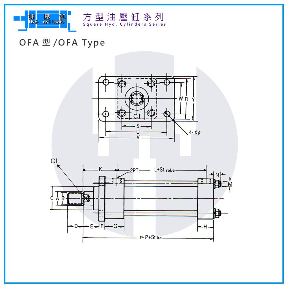 Hyd. Cylinder-OFA Type