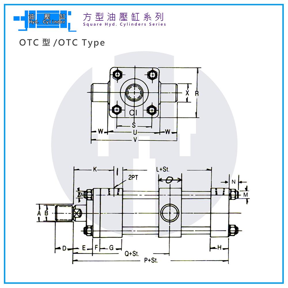 Hyd. Cylinder-OTC Type