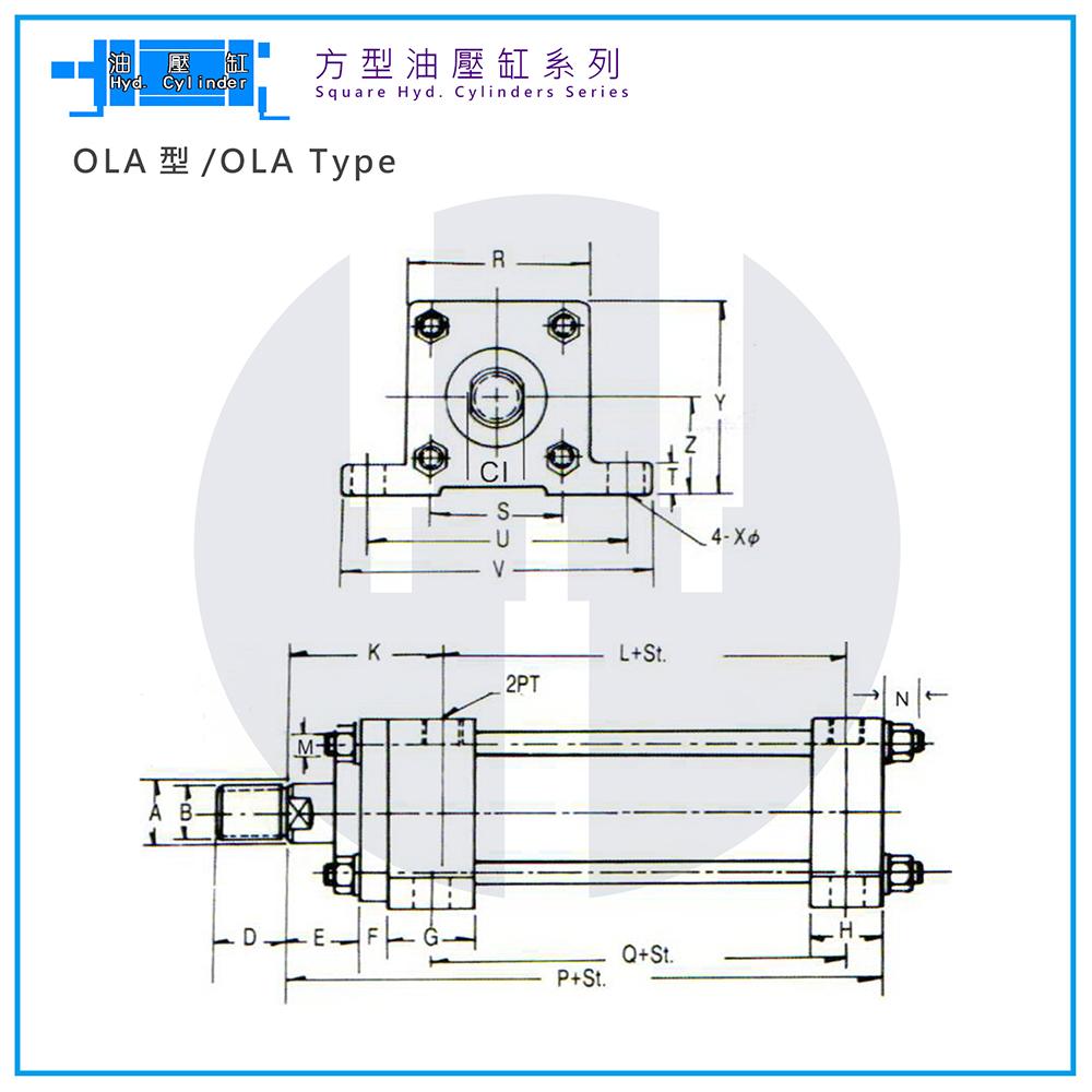Hyd. Cylinder-OLA Type