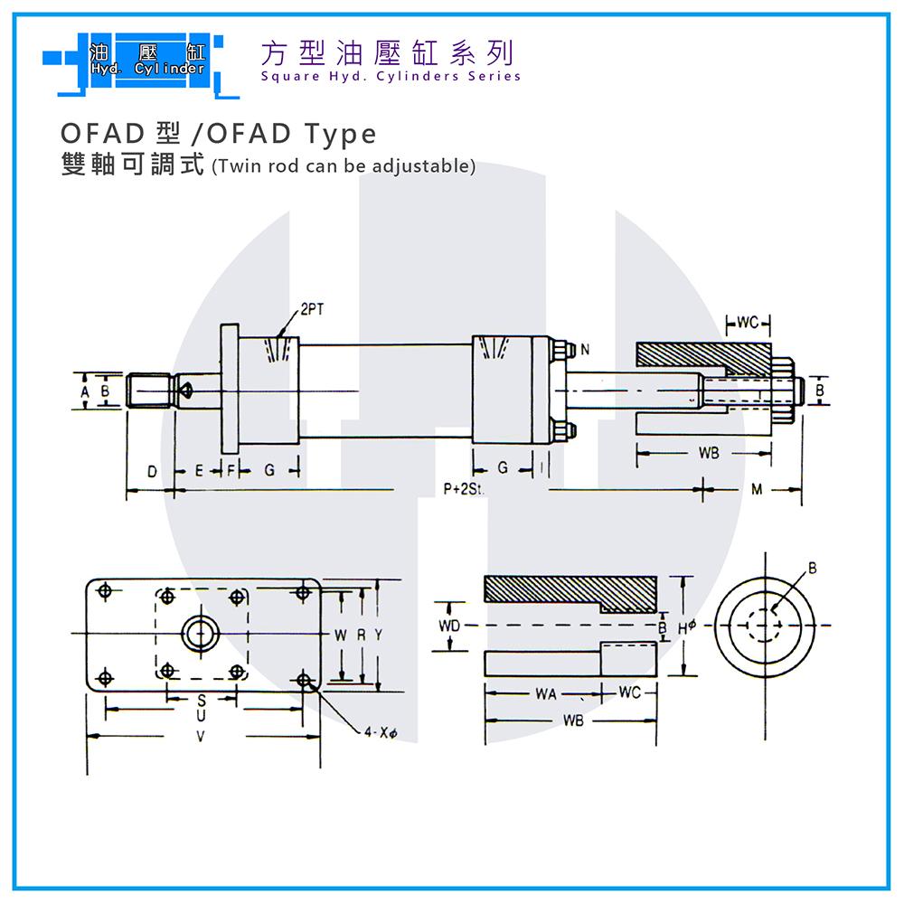 Hyd. Cylinder-OFAD Type