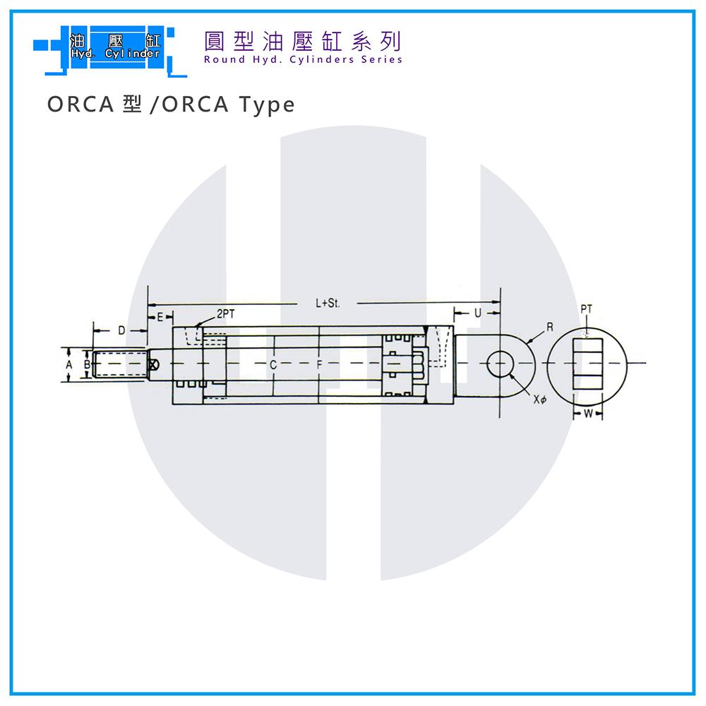 Hyd. Cylinder-ORCA Type