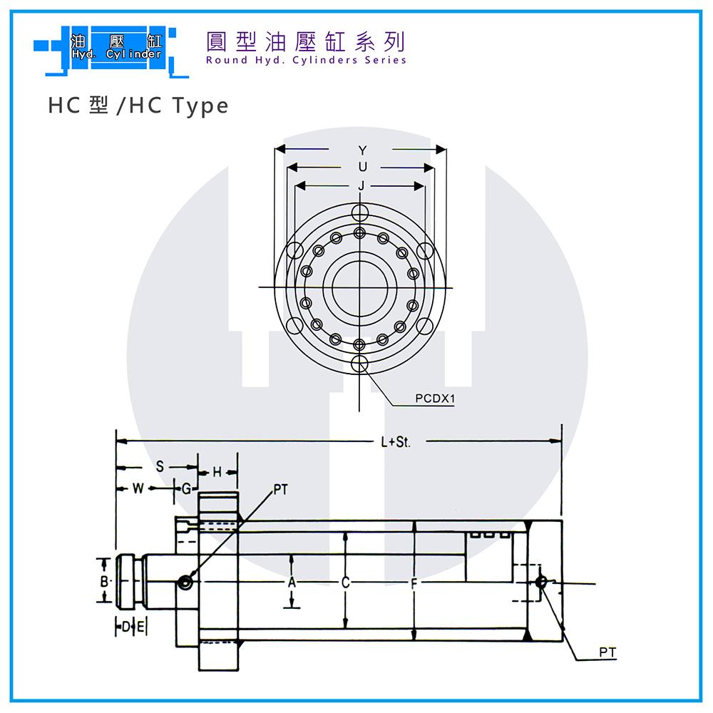 Hyd. Cylinder-HC Type