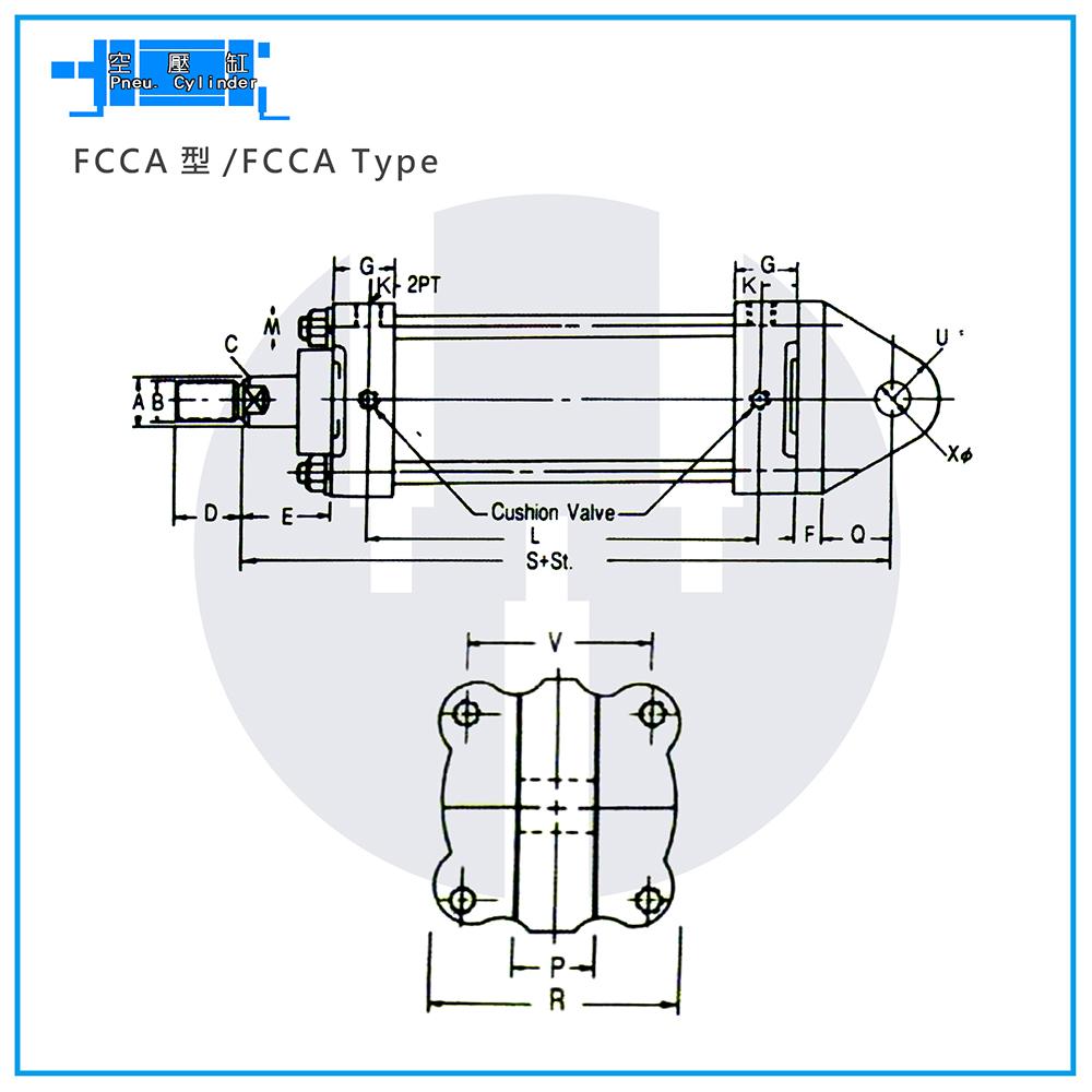 Pneu. Cylinders - FCCA Type