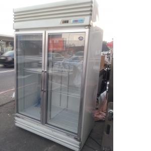 生意用雙門玻璃大冰箱
