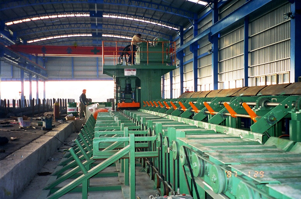 Hydraulic Rebar Bending center