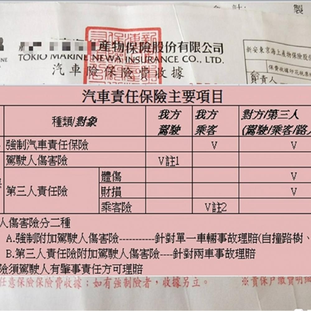 車險篇(台中/保險官司訴訟)