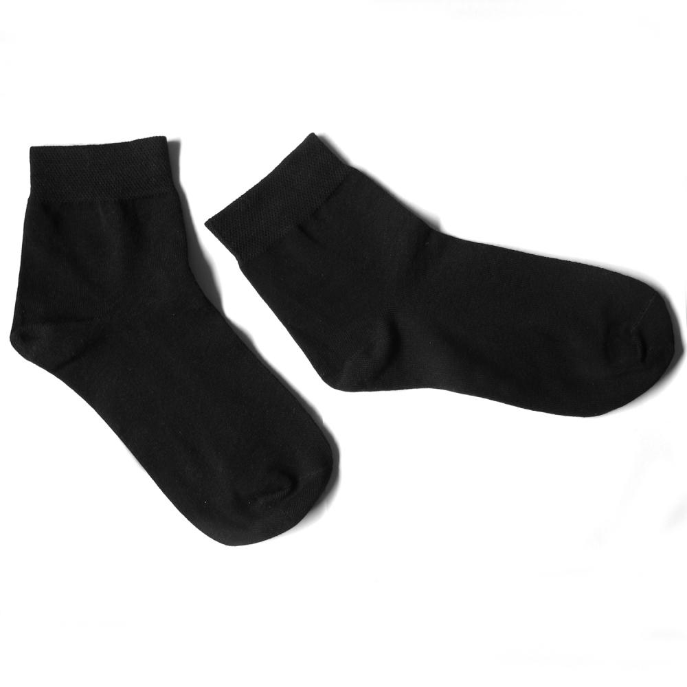 黑色紳士中筒除臭襪