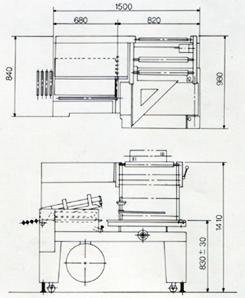 全自動L型封口收縮包裝機組